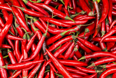 Red Chillies detail