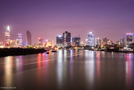Purple Saigon Sunset