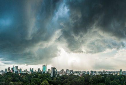 Saigon Storm Clouds